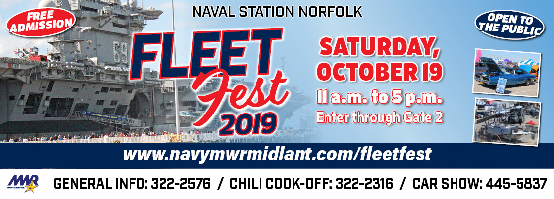 Naval Station Norfolk 2019 MWR Fleet Fest